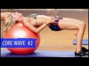 Swimsuit-Ready Core Workout 2 Stability Ball- Surfer Girl