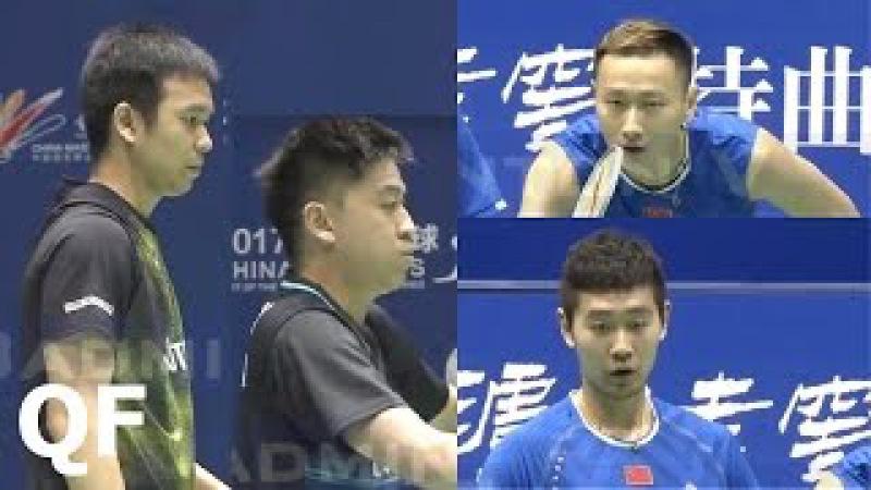 Badminton 2017 China Masters Hendra SETIAWAN TAN Boon Heong vs ZHANG Nan LIU Cheng