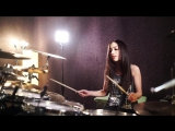 NEW  A PERFECT CIRCLE - PET - DRUM COVER BY MEYTAL COHEN