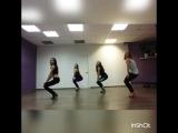❤ Стрипластика начинающая группа, мои ученицы. Школа танцев My Dance