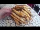 Жареная Корюшка. Fried Smelt