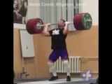 Ильи Ильин - толчковый швунг 245 кг