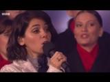 Katie Melua  The Gori Womens Choir - The Little Swallow (Ukrainian language of Carol of the Bells)