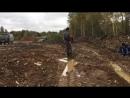 Новая фишка в подвозе песка на болоте