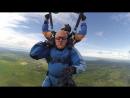Первый прыжок с 4000 метров свободное падение