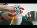 Мастер класс Лепка песика из мастики