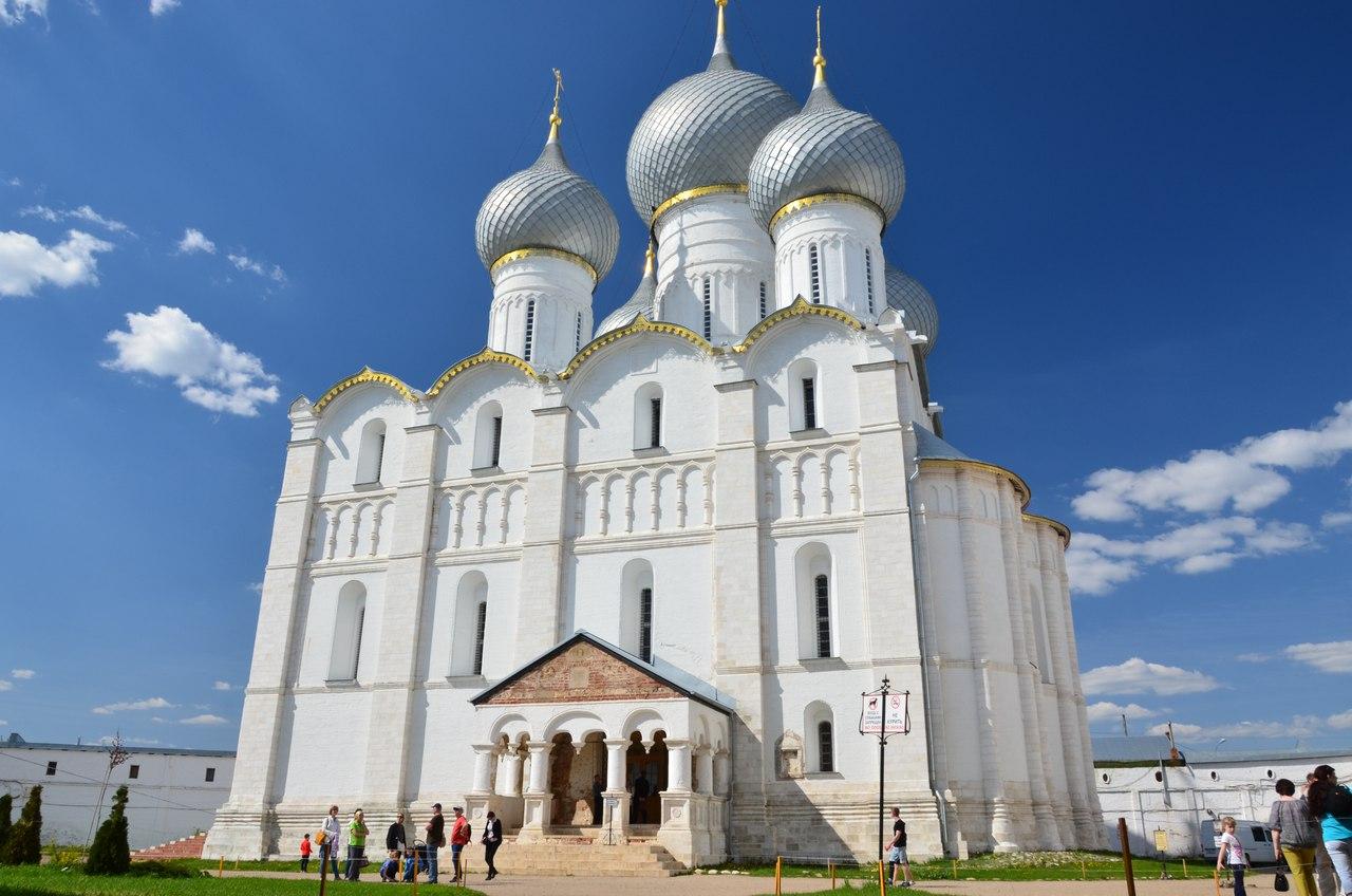 rM8WtOxEoAc Ростов Великий один из древнейших городов России.
