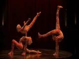 Цирк Дю Солей 2008г. Гимнастика каучук и спортивная акробатика.