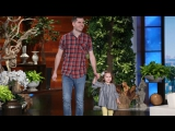 Ellen Meets the Darling Singing Father-Daughter Duo RUS SUB