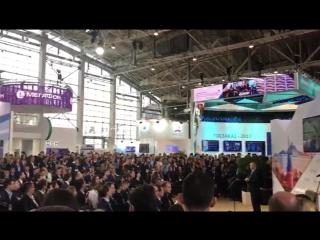 Алексей Анисимов на открытии XIII Форума-выставки ГОСЗАКАЗ-ЗА честные закупки