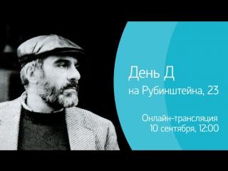 «День Д» на Рубинштейна. Онлайн-трансляция.
