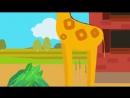 Друзья Животные - Веселая обучающая песенка для детей, малышей - Трактор едет в гости к друзьям-save4