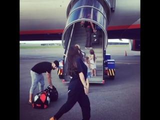 Бьянка #аэрофлот #ура #полетели 🤗🐥✌️