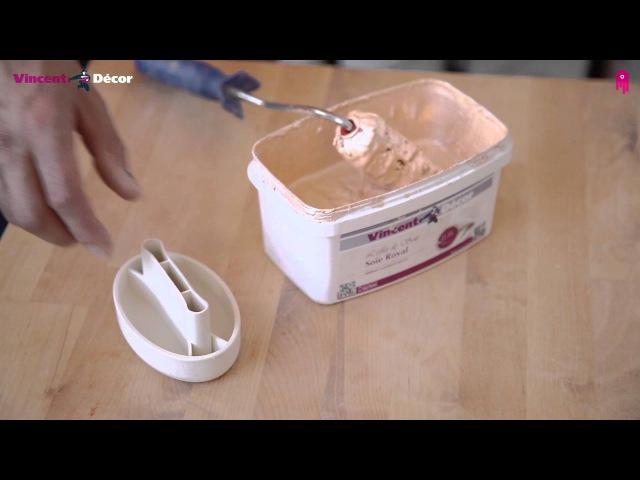 Декоративное покрытие Vincent Decor Soie Royal. Видео-инструкция по нанесению » Freewka.com - Смотреть онлайн в хорощем качестве