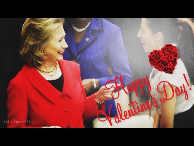 Hillary Clinton Huma Abedin ll Secret Lovers