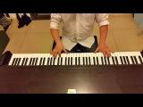 Крылатые качели (В юном месяце апреле в старом парке тает снег) - пианино кавер