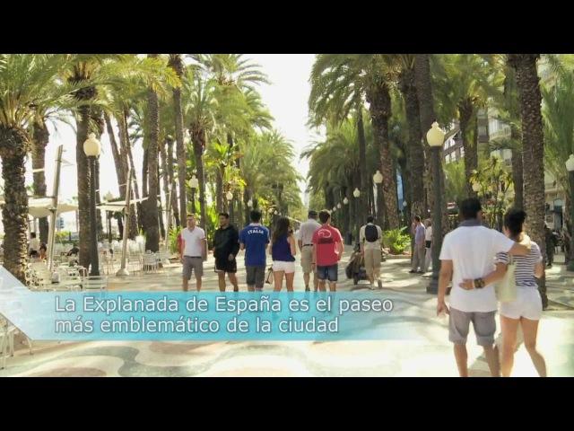 Explanada de España en Alicante