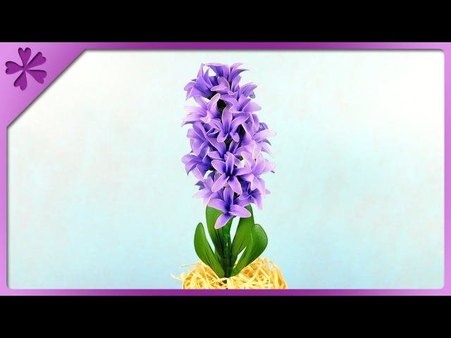DIY Nylon hyacinth ENG Subtitles Speed up 328