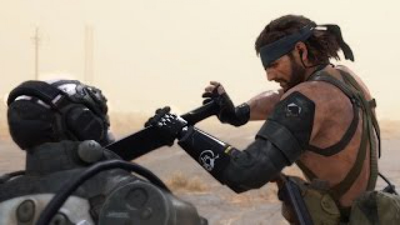 MGS5 - Ep.29 [Metallic Archaea] - No Traces CQC Vehicle strategy