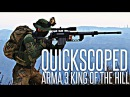 QUICKSCOPED IN ARMA - M320 LRR Sniper Rifle - ArmA 3 King Of The Hill