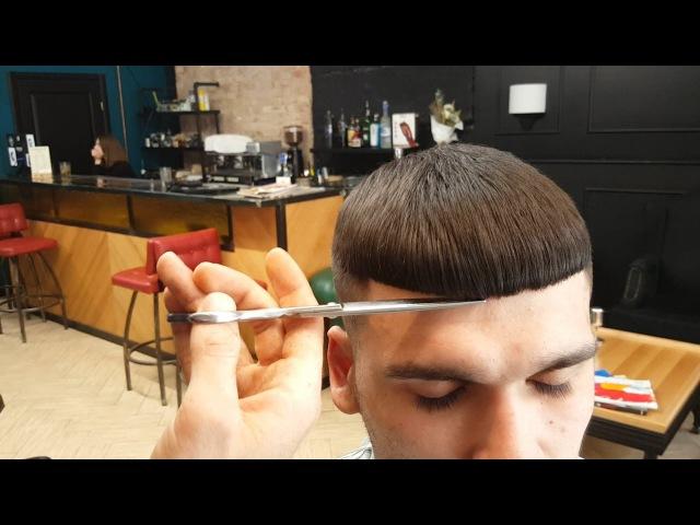 Mens hair tutorial crop 2017 \ Мужская стрижка 2017 \ Mens hair tutorial scissors