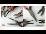Как удалить ржавчину на инструментах из метала эксперименты