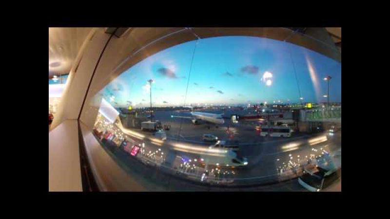 Istanbul Ataturk Airport international flight departure Gear 360