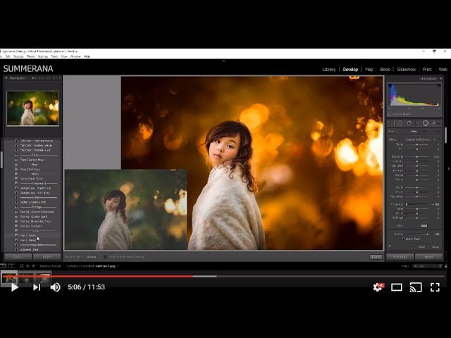 How to Edit Fall Images in Lightroom Using the Color Me Fall Collection by Summerana