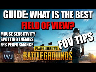 GUIDE: What is the BEST Field of View Setting? TESTED! - PLAYERUNKNOWN's BATTLEGROUNDS (PUBG)