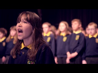 Кайли Роджерс - талантливая девочка с аутизмом исполняет известный псалом Леонарда Коэна «Аллилуйя»