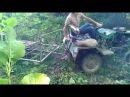 Самодельный Мини-Трактор (Разворачиваемся в лесу)