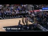 LaMarcus Aldridge Block Andrew Harrison  Grizzlies vs Spurs  March 23, 2017