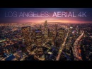 Cityscape Los Angeles Aerial 4K