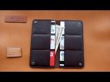 Обзор кожаного мужского портмоне ручной работы от интернет магазина RUKASHOP кошел...