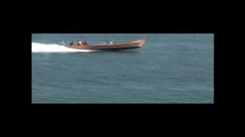 Poker run with a 1958 made fishingboat and 500hp Yanmar turbodiesel