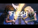 Flesh♥ Hiccstrid Astrid/Hiccup ♥ AMV