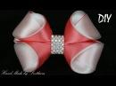 Бантики из лент КАНЗАШИ DIY Bows made of ribbon Kanzashi Laço de Cetim Curva da fita