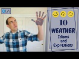 10 English Weather Idioms and Expressions  Speak English Like A Native