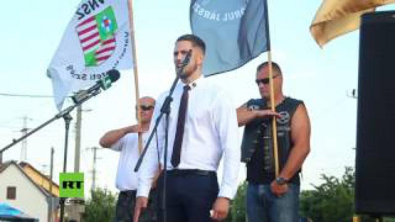 Die weiße Rasse retten Rechtsextreme Gruppen gründen in Ungarn neue Anti-Immigrations-Bewegung