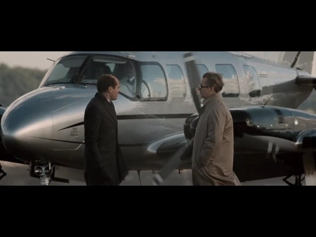 Tinker Tailor Soldier Spy (Aircraft Scene)