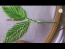 Hand Embroidery Leafs ( Romanian, Fly, Herring Bone) Stitches Designs 3 - by Maa Creative