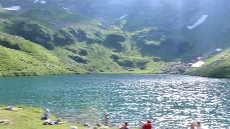 Горное озеро Мзы, Абхазия