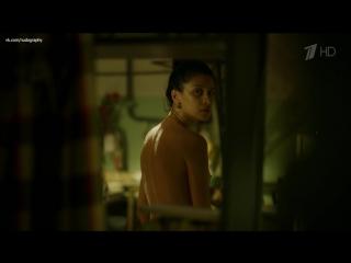 Равшана Куркова голая в сериале А у нас во дворе (2015, Ольга Музалева) - 4 серия (1080i)
