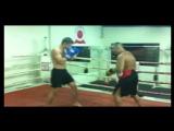 Тренировка с семикратным чемпионом мира по профессиональному Муай Таю Рамазаном Рамазановым.