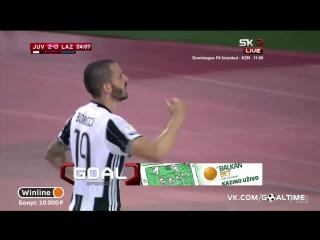 Ювентус - Лацио 2:0. Леонардо Бонуччи