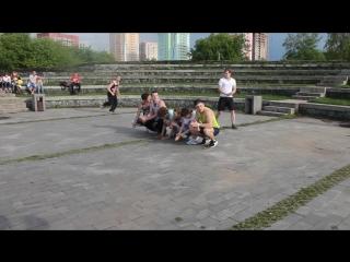 Фестиваль уличного спорта в рамках межрегионального фестиваля дворового спорта