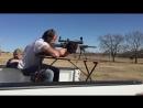 Travis shooting his Armalite AR 10 308 at 400 yards