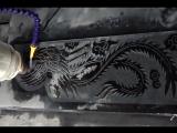 CNC резьба по камню машина для птицы феникс рельефная резьба и гравировка