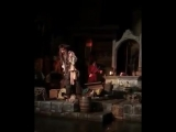 Джонни Депп посетил «Диснейленд» в образе капитана Джека Воробья