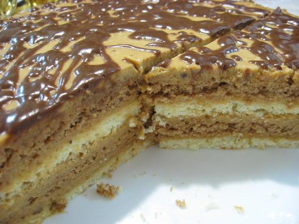 Торт со сметаной и сгущенкой рецепт с фото в мультиварке